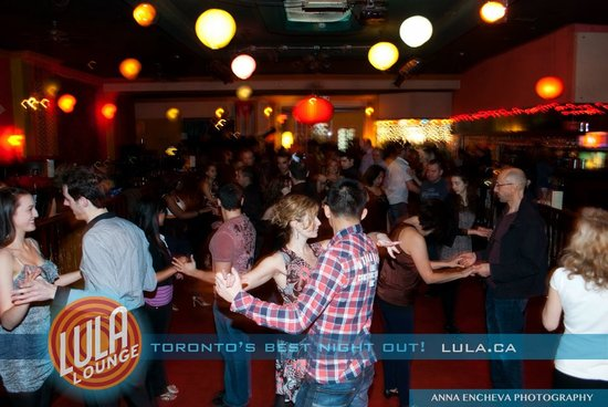 june 20th - salsa night out at lula lounge